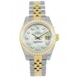 Rolex Lady-Datejust White mop/Diamond Jubilee 179383