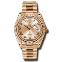 Rolex Day-Date II Pink Roman President 218235