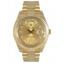 Rolex Day-Date II Yellow Gold 41mm 218238