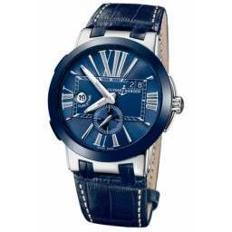 Ulysee Nardin Executive Dual Time 43mm 243-00/43