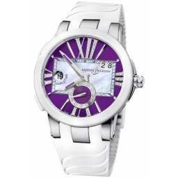 Ulysee Nardin Executive Dual Time Lady 243-10-3/30-07