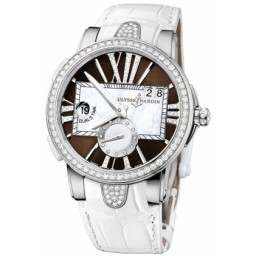 Ulysee Nardin Executive Dual Time Lady 243-10B/30-05