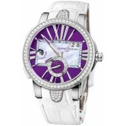 Ulysee Nardin Executive Dual Time Lady 243-10B/30-07