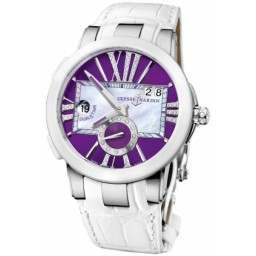 Ulysee Nardin Executive Dual Time Lady 243-10/30-07