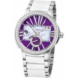 Ulysee Nardin Executive Dual Time Lady 243-10B-7/30-07