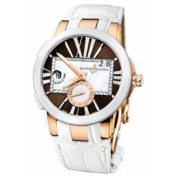 Ulysee Nardin Executive Dual Time Lady 246-10/30-05