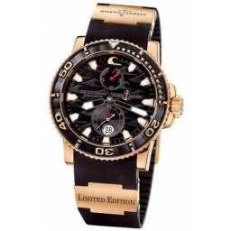 Ulysee Nardin Maxi Marine Diver Black Surf 266-37LE-3A