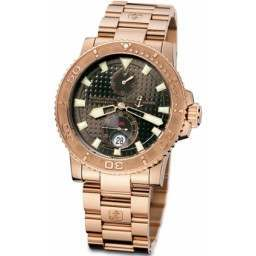 Ulysee Nardin Maxi Marine Diver Chronometer 266-33-8/925