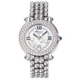 Chopard Happy Sport Classic Round 7 Floating Diamonds 278291-2005
