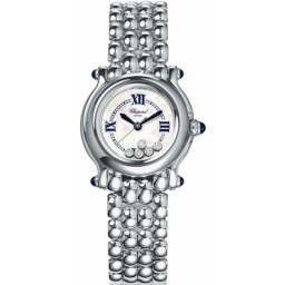 Chopard Happy Sport Classic Round 5 Floating Diamonds 278250-3022