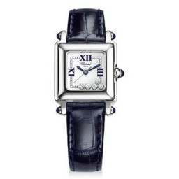 Chopard Happy Sport Classic Square 5 Floating Diamonds 278892-3004