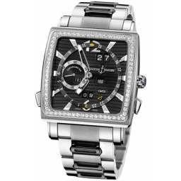 Ulysee Nardin Quadrato Dual Time Perpetual 320-90B-8M/92