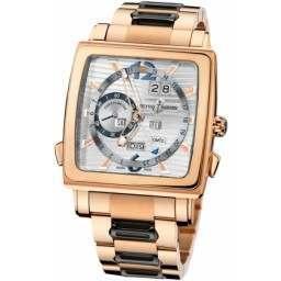 Ulysee Nardin Quadrato Dual Time Perpetual 326-90-8M/91