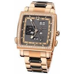 Ulysee Nardin Quadrato Dual Time Perpetual 326-90B-8M/69