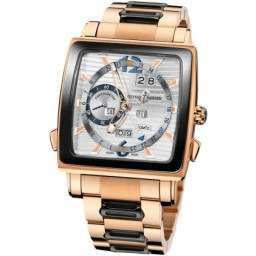 Ulysee Nardin Quadrato Dual Time Perpetual 326-90CER-8M/91