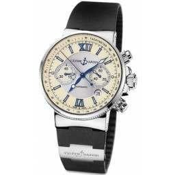 Ulysee Nardin Maxi Marine Chronograph 353-66-3/314