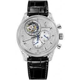 Zenith Tourbillon Chrono. With date 45.2050.4035/09.C714