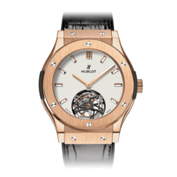 Hublot Classic Fusion Tourbillon King Gold Opalin 45mm 505.OX.2610.LR