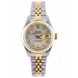 Rolex Datejust after set mother of pearl diamond dial -69173