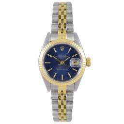 Rolex Lady DateJust Blue Baton Jubilee - 69173