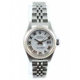 Rolex Lady DateJust White Baton - 79174