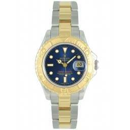 Rolex Yachtmaster Ladies Blue Dial 69623