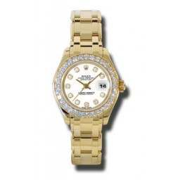 Rolex Lady Pearlmaster White/diamond 80298