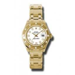 Rolex Lady Pearlmaster White/diamond 80318