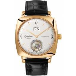 Glashutte Senator Sixties Square Tourbillon 94-12-01-01-04