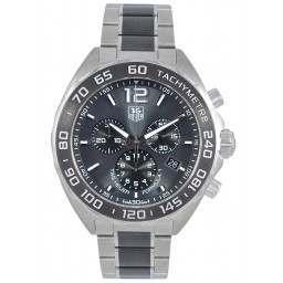 Tag Heuer F1 Quartz Chronograph Grey Dial CAZ1111.BA0878