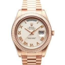 Rolex Day-Date II Ivory Roman President 218235