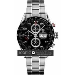 Tag Heuer Carrera Automatic Chronograph Day Date Pre-Owned CV2A10.BA0796