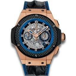 Hublot Unico Gold And Blue 701.OQ.0119.HR
