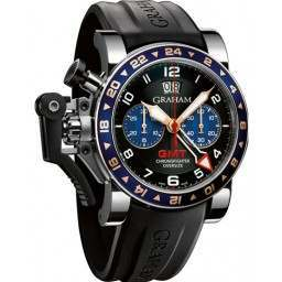 Graham Chronofighter Oversize GMT 2OVGS.B26A