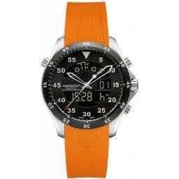 "Hamilton Khaki Aviation Flight Timer Air Zermatt"""" H64554431"