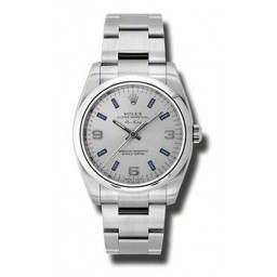 Rolex Oyster AirKing - 114200 Silver and Blue dial