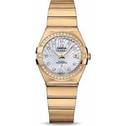Omega Constellation Brushed Chronometer 123.55.27.20.55.002