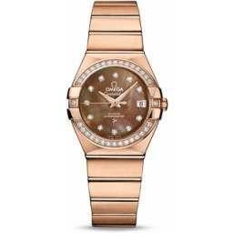 Omega Constellation Brushed Chronometer 123.55.27.20.57.001