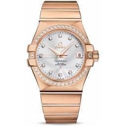 Omega Constellation Chronometer 35 mm Chronometer 123.55.35.20.52.001