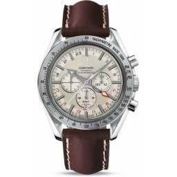Omega Speedmaster Broad Arrow GMT Chronometer 3881.30.37