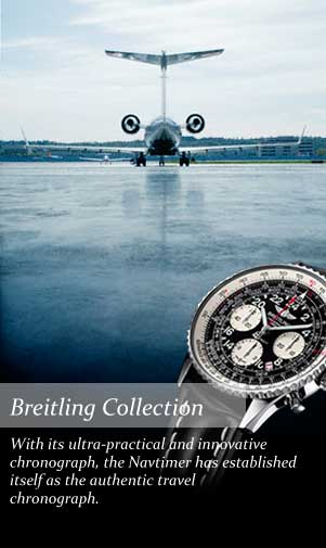 View our breitling collection