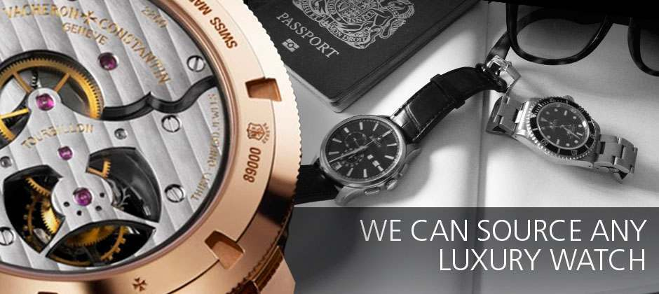 Luxury watches and travel accessories