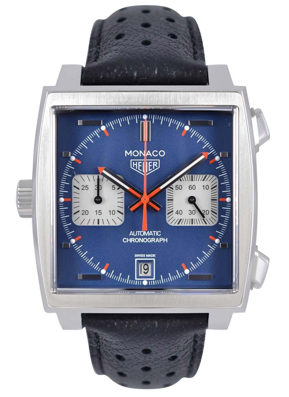 d547dede0506 Tag Heuer Monaco Calibre 11 Automatic Chronograph CAW211P.FC6356 ...