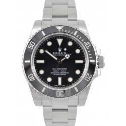 As New Rolex Submariner Steel Non Date Black 40mm 114060