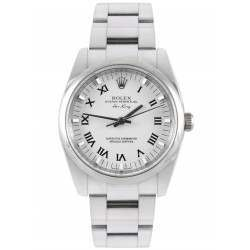 Rolex Oyster Perpetual White/Roman Oyster 114200