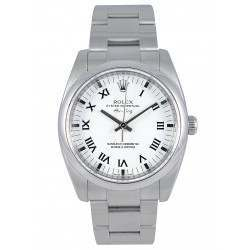 Rolex Oyster Perpetual White Roman Oyster 114200