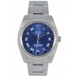 Rolex Oyster Perpetual Air-King Blue/Roman 114234
