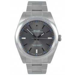 Rolex Oyster Perpetual 39 Dark rhodium/ Index Oyster 114300
