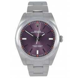 Rolex Oyster Perpetual 39 Red grape/ Index Oyster 114300