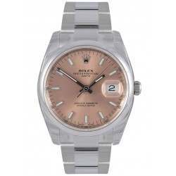 Rolex Date Pink/index Oyster 115200